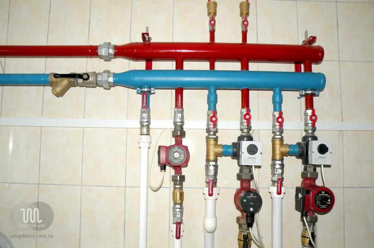 Прокладка трубопровода фото