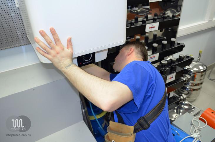 Установка и подключение водонагревателей фото