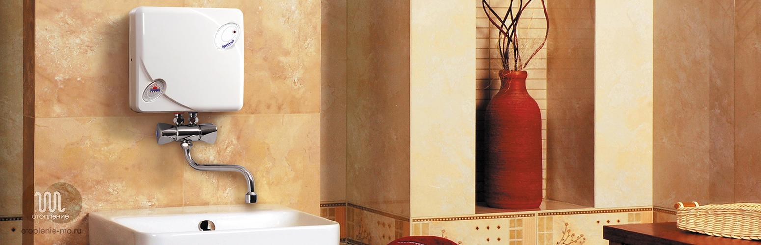 Установка и подключение проточных водонагревателей фото
