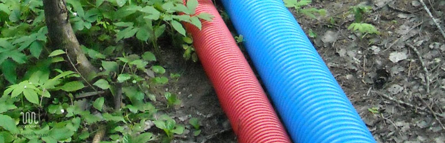 Монтаж гофрированных труб канализации фото