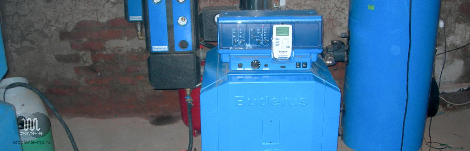 Ремонт дизельного котла отопления