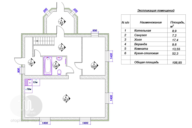 Схема подключения оборудования водоснабжения дома