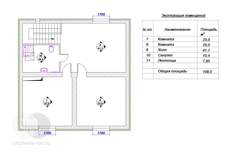 Схема подключения оборудования водоснабжения
