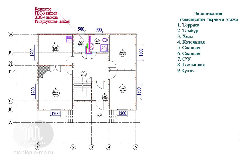 Схема разводки водоснабжения частного дома