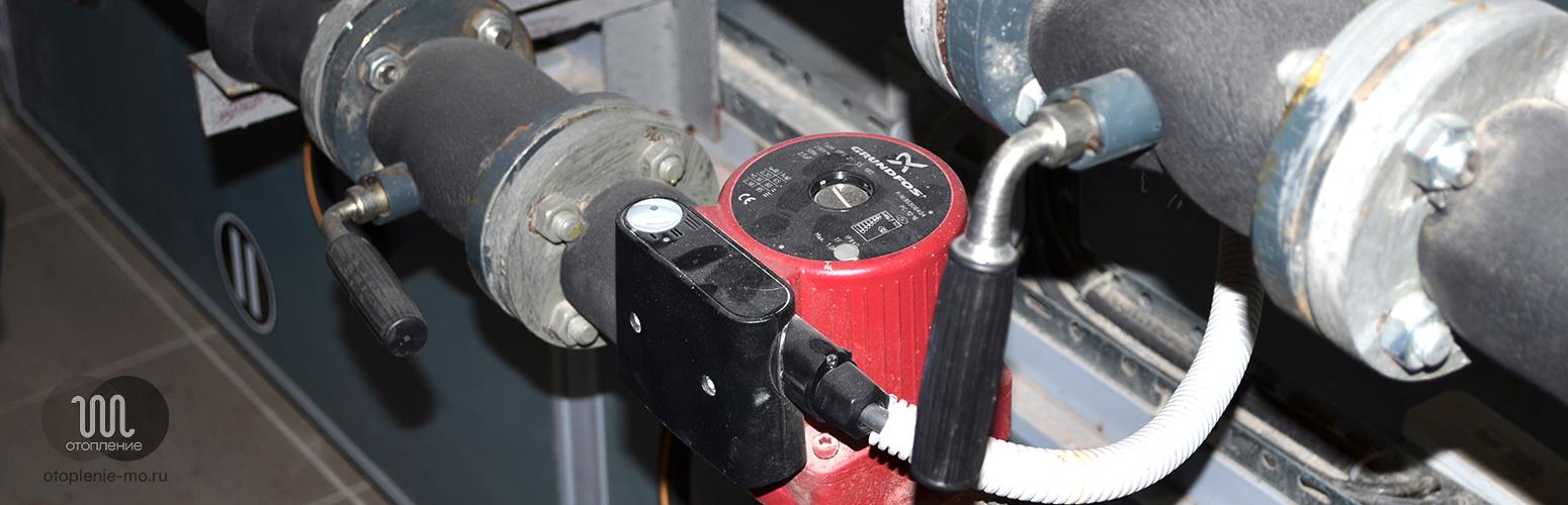 Подключение и установка циркуляционных насосов фото