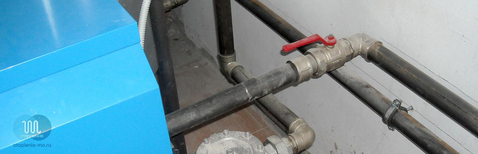 Монтаж стальных труб водоснабжения фото